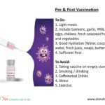 Pre & Post Vaccination Tips